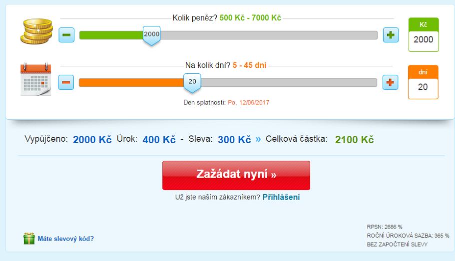 Online pujcka bez doložení príjmu uherský brod zbrojovka