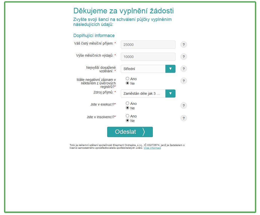 Nebankovní pujcky online chrast photo 3