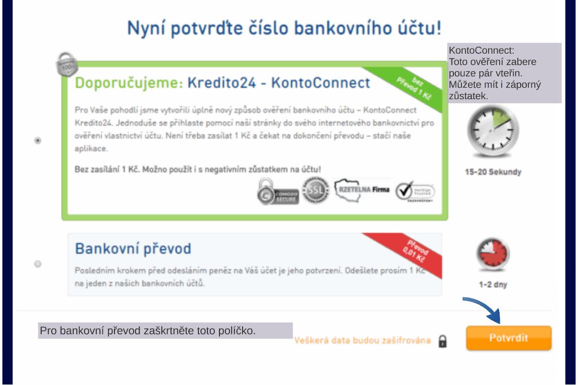 Kredito24 půjčka krok 5
