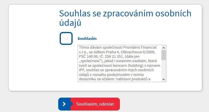 Online kalkulačka půjčka