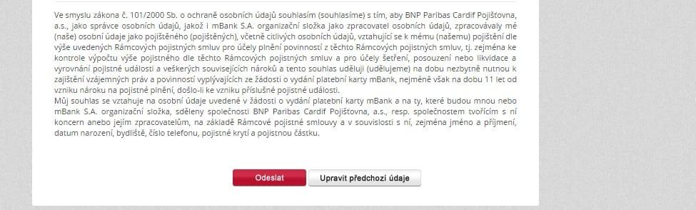 mBank mPůjčka plus krok 12